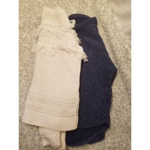 2 old navy sweaters girls size 8